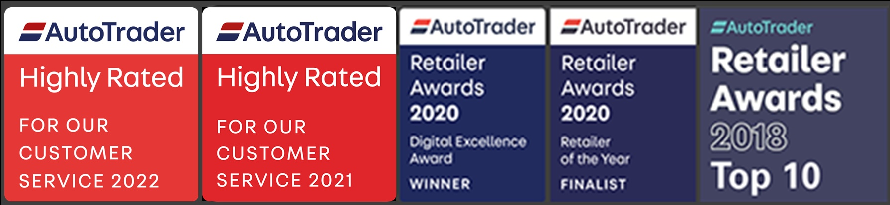 Autotrader Retail Awards 2018 - Top10 UK dealers